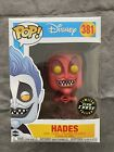 Funko Pop! Disney Hades # 381 (GITD) Chase Exclusive Glow In The Dark Red Mint