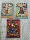 TY Beanie Baby Glow in the Dark Collector Cards Stickers