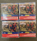 2014 Panini MARVEL Ultimate Spiderman Stickers 4 box lot unopened Free Shipping!