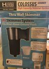 Colossus Above Ground XL Pool Skimmer System And Wide Mouth Skimmer Adapter