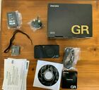 Ricoh GR II 16.2MP Digital Camera - Black with extras