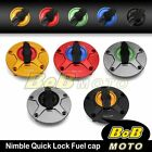 For Ducati Monster 620 / 695 / Dark All NIMBLE 1/4 Quick Lock Gas Fuel Cap