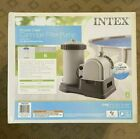 Intex 28633EG 2500 GPH Above Ground Swimming Pool Cartridge Filter Pump IN HAND