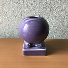 Two Fiesta Lilac Purple Bulb Candle Holder Set Retired HLC Pottery Dinnerware