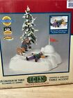 Lemax Christmas Village Collection Snow Angel's Wings Lighted Animated NIB A2H