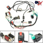50CC 125CC CDI WIRE HARNESS STATOR ASSEMBLY WIRING KIT FOR ATV ELECTRIC QUAD USA