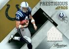 2010 Prestige Prestigious Pros Materials Gold Colts Card #8 Dallas Clark Jsy 50
