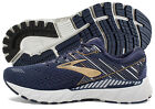 Brooks Adrenaline GTS 19 Mens Shoe Navy Gold Grey multiple sizes New In Box