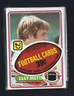 1980 TOPPS FOOTBALL CELLO PACK GREAT SHAPE CLAY MATTHEWS ROOKIE ON TOP MINT