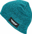 FLY RACING FITTED BEANIE TEAL HEATHER