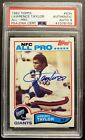 1982 Topps Lawrence Taylor Rookie #434 with PSA Auto 9.