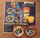 Pair CHALLENGER NASA SPACE SHUTTLE Mission Patches Tang Special Offer Patches
