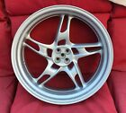 BMW R1100S R1100RS  5 Spoke Silver Rear Wheel with ABS 5.00-17 NOS