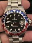 "Steinhart GMT OCEAN One 39 Blue-Red ""Pepsi"" Full Kit & Papers"