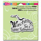 Stampendous Rubber Cling Stamp Witching You Halloween