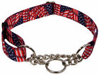 10 Country Brook Petz Half Check Dog Collars Various Designs Available