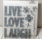 Close to My Heart Stamp Set S1705 Live Laugh Love
