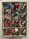 Lauscha Glas Creation Blown Glass Christmas Ornaments Made In Germany Lot 12
