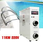 Electric Swimming Pool Water Heater Thermostat Hot Tub Secure Stable 11KW 220V
