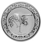 2020 Niue Celestial Animals Series The Red Phoenix 1 oz Silver Capsuled BU Coin
