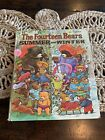 Vtg The Fourteen Bears Summer and Winter Big Golden Book Scarce 1973 OOP Parsons