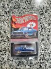 Hot Wheels CUSTOM MUSTANG Otto Blue w RR RLC Red Line Club