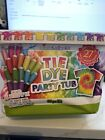 Create Basics Tie Dye Kit 93 Piece 12 Color Party Tub Brand New Factory Sealed