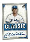 2008 UD LEGENDARY CUTS BILLY WILLIAMS AUTO # 25 ON CARD AUTOGRAPH CHICAGO CUBS