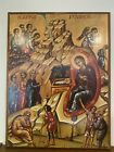 The Nativity of The Lord Orthodox Icon Large 18x24 inches