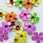 Set of 20 Groovy Flower Eyelets 1 8 Flowers Stamping Cards Embellishments Craft