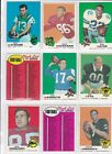 1969 Topps Football Cards 2