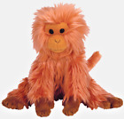 New! (no tag) Ty Beanie Babies Baby Caipora Golden Lion Tamarin Monkey 8