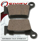 Rear Organic Brake Pads 2007 KTM 525 XC-G Set Full Kit Desert Racing Complet xu