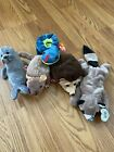 Lot of 5 Assorted Ty Beanie Babies ~ Slippery, Prickles, Tiptoe, Ringo