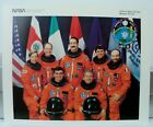 Official NASA Atlantis Space Shuttle Mission STS 46 Crew 8 x 10 Photo