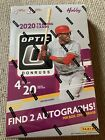 2020 Donruss Optic Baseball Card Factory Sealed Hobby Box 2 Autograph Parallel