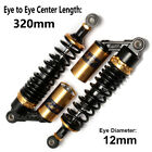 320mm 12.5'' Motorcycle Rear Shock Air Absorbers Gas Suspension Fit for Honda US