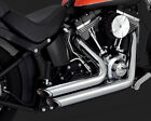 Vance  Hines Shortshots Staggered Exhaust Chrome Harley Heritage Softail 12 17