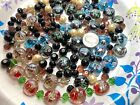 Bulk Lot Glass Beads for Bracelet Making Mix Color Lampwork Crystal Mix 10 lbs