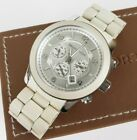 MICHAEL KORS Runway White Unisex Watch MK8108 W/ Box