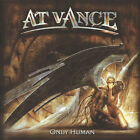 AT VANCE – Only Human - 2002 - CD - MINT - neoclassical power metal - Hartmann
