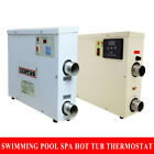 220V 240V ELECTRIC Water Heater Swimming Pool SPA Hot Tub Thermostat 3 11 18KW