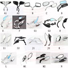 Motorcycle Black Chrome Rear View Mirrors For Harley Cruiser Bobber Chopper US