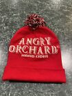 ANGRY ORCHARD Hard Cider Red Winter Hat Beanie Skull Cap