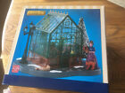 Lemax-VICTORIAN GREENHOUSE Lighted -Holiday Village-Train Set Accent