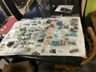 Jewelry Making Beads Lot Hardware Blue Black Silver Gold
