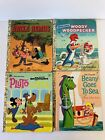 VINTAGE LITTLE GOLDEN BOOK - LOT OF 4 - Uncle Remus, Pluto, Beany, Woody