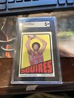 1972 Topps Julius Erving Sgc 5 Not Psa No Fish Eye