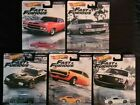 HOTWHEELS 164 Diecast Real Riders FAST  FURIOUS 1 4 Mile Muscle Full Set
