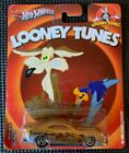 HOTWHEELS Pop Culture Nostalgia 2013 LOONEY TUNES Roadrunner Coyote Camaro